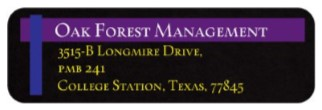 Managed By Oak Forest Management