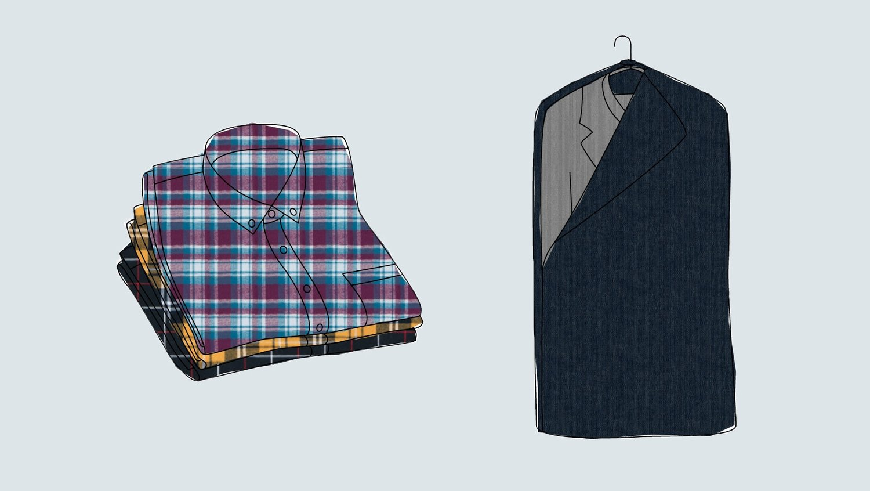 Storing Winter Clothing