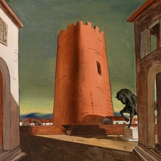 Reconsidering Giorgio de Chirico's early exhibition history: 'The red tower' and 'The enigma of a day' - Burlington Magazine