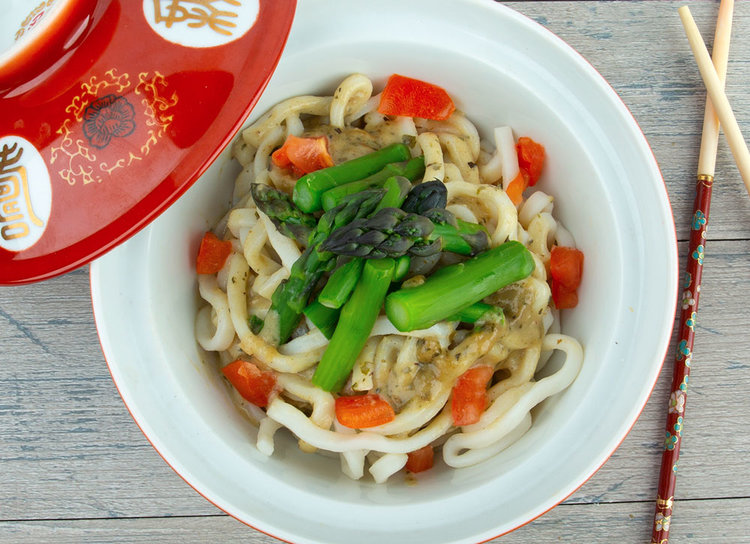 Udon Noodles with Thai Green Coconut Curry — Manitou Trading Company