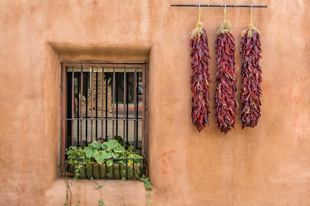 New Mexican ristras