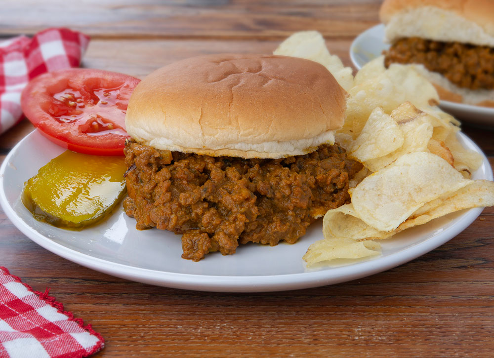 Beef Rendang Curry Sloppy Joe