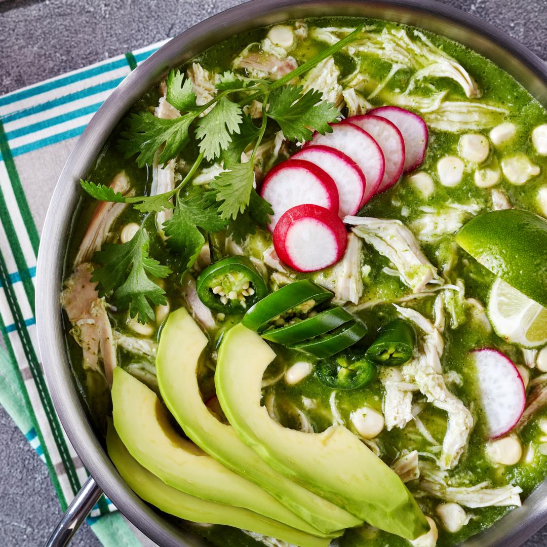 Pozole Verde with Chicken
