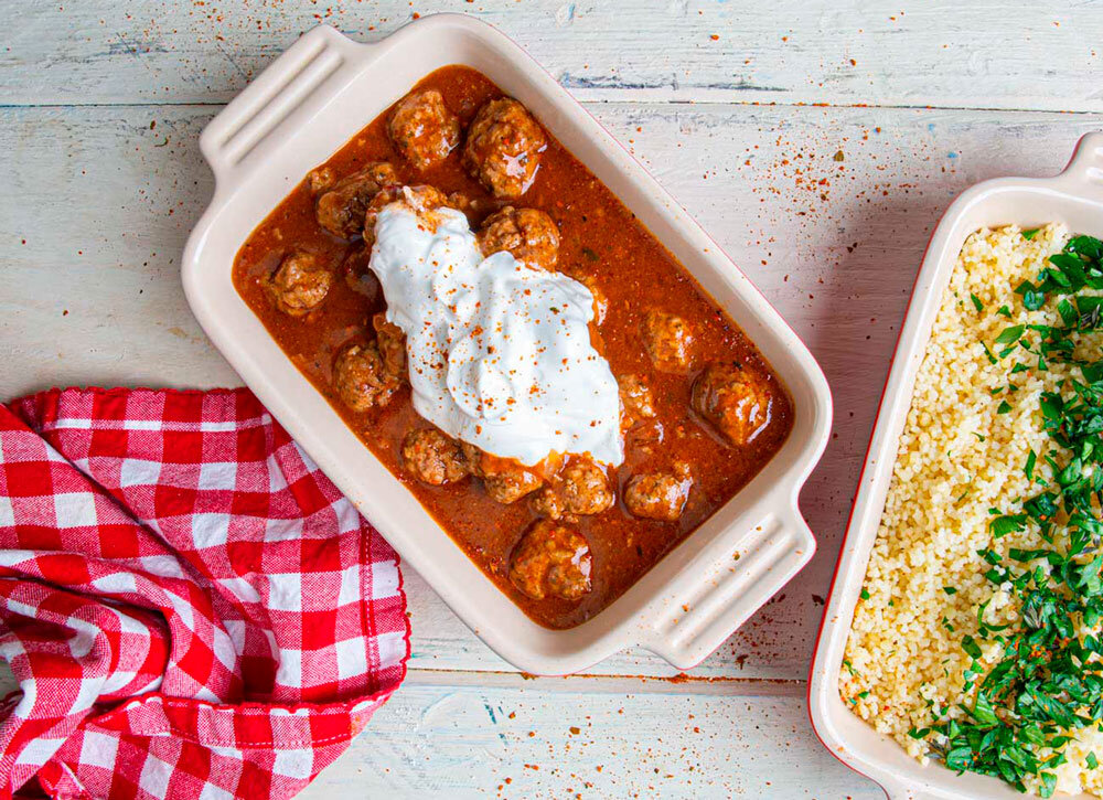 4. Slow Cooker Suya Lamb Meatballs - Our Suya Spice adds heat and warm, rich flavor to easy slow cooker lamb meatballs. Perfect over warm couscous, they make a great weeknight meal.