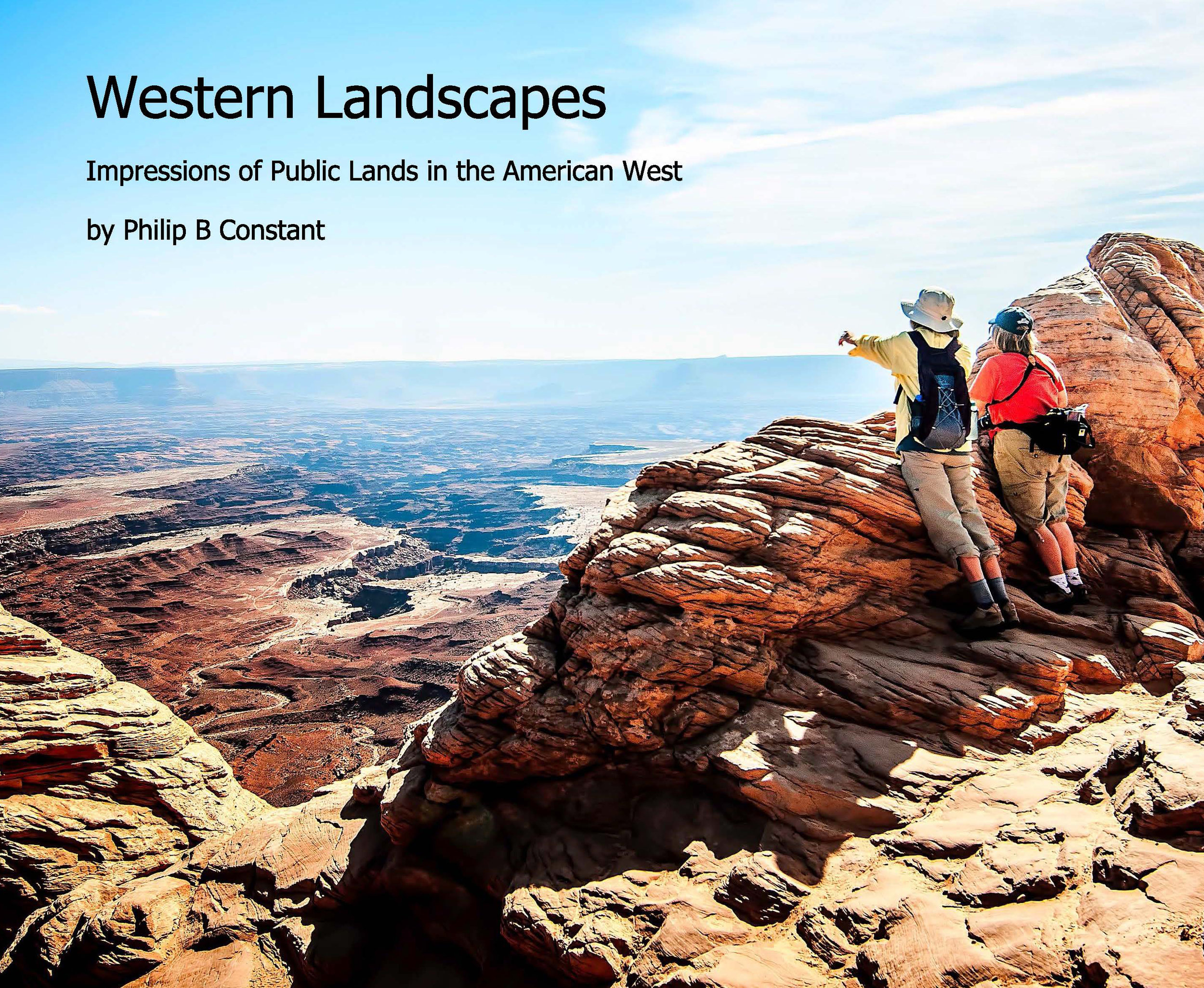 Images of national and state parks throughout the west