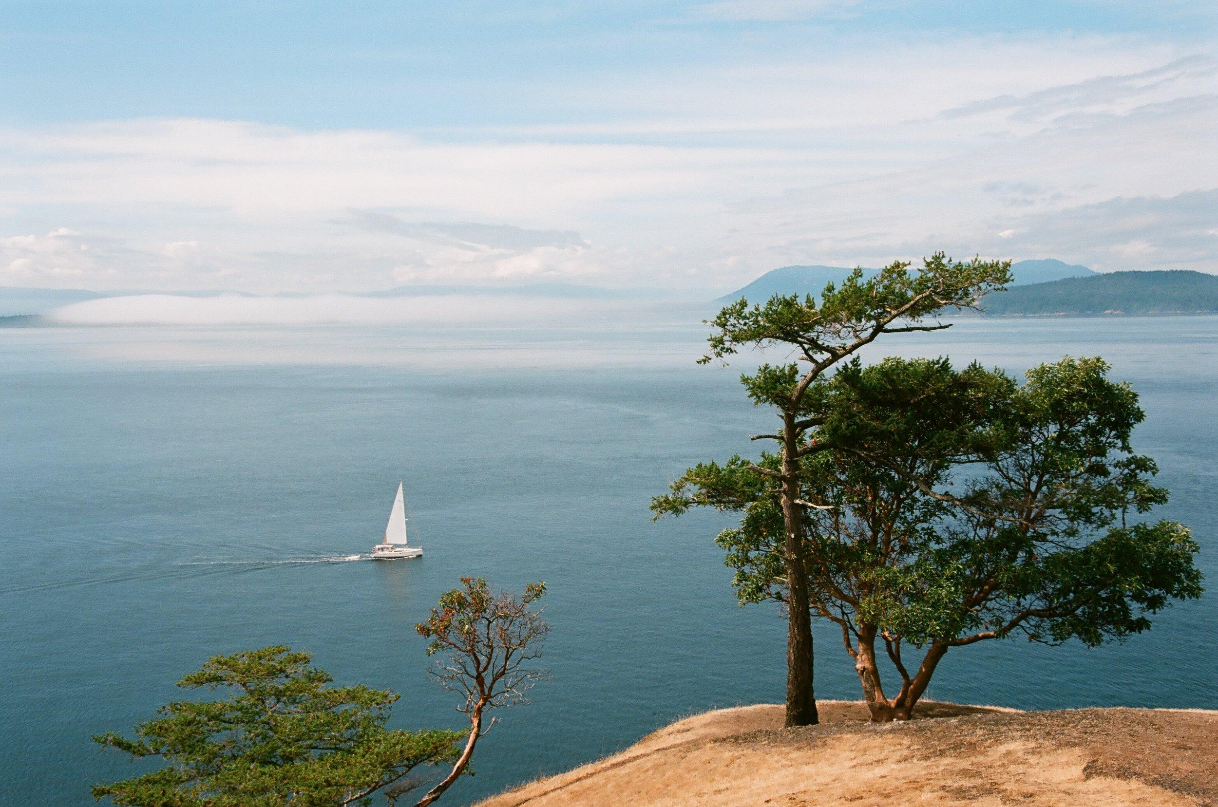 Turn Point State Park, Stuart Island, Washington. Kodak Ektar 100