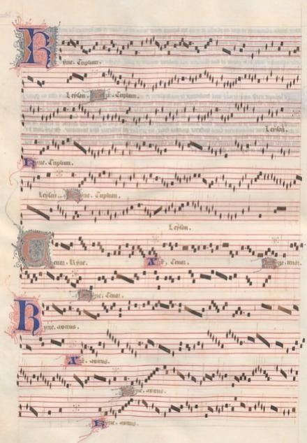 Guillaume de Machaut,  La messe de Nostre Dame (1365)