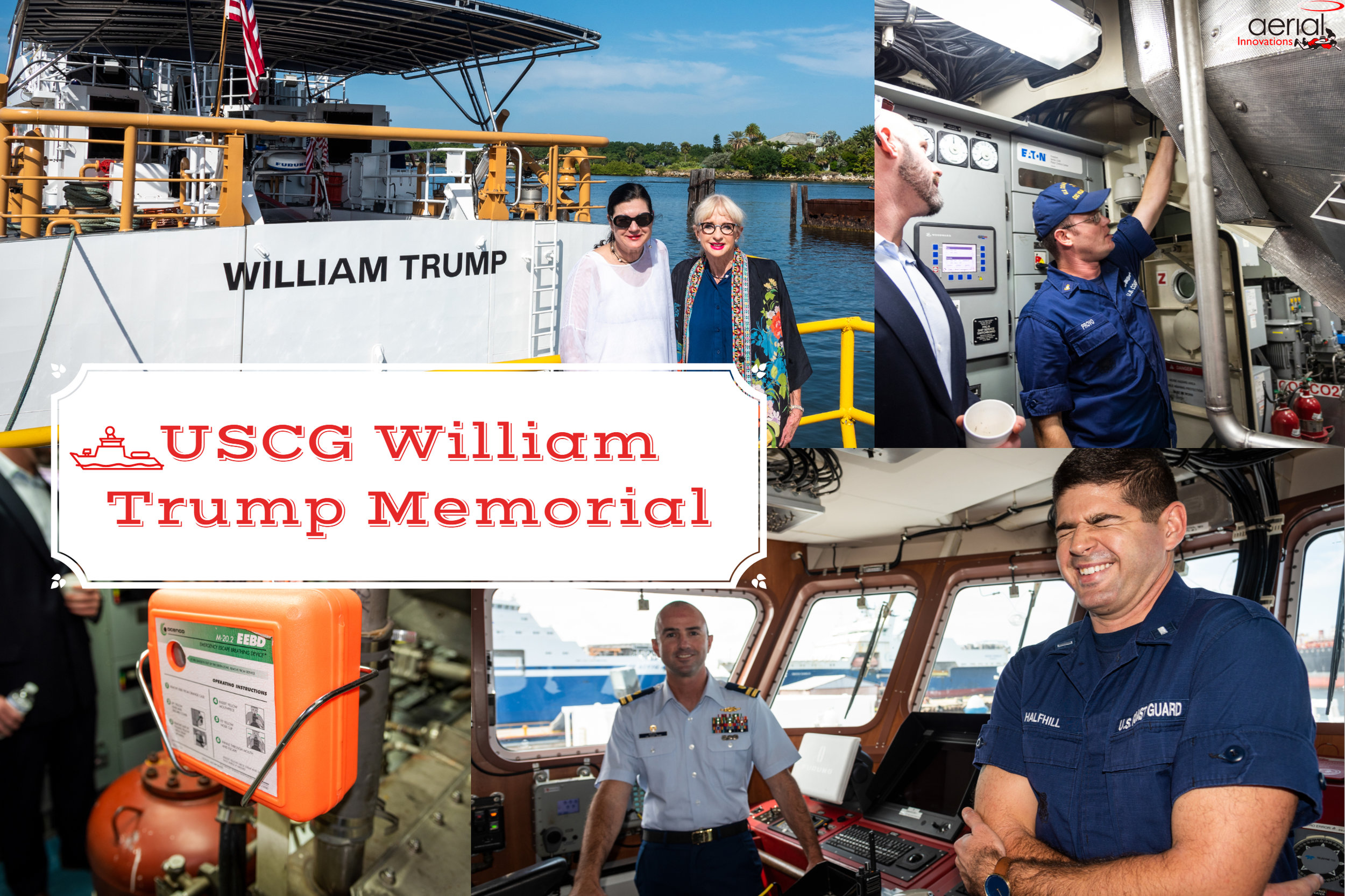 USCG William Trump Memorial