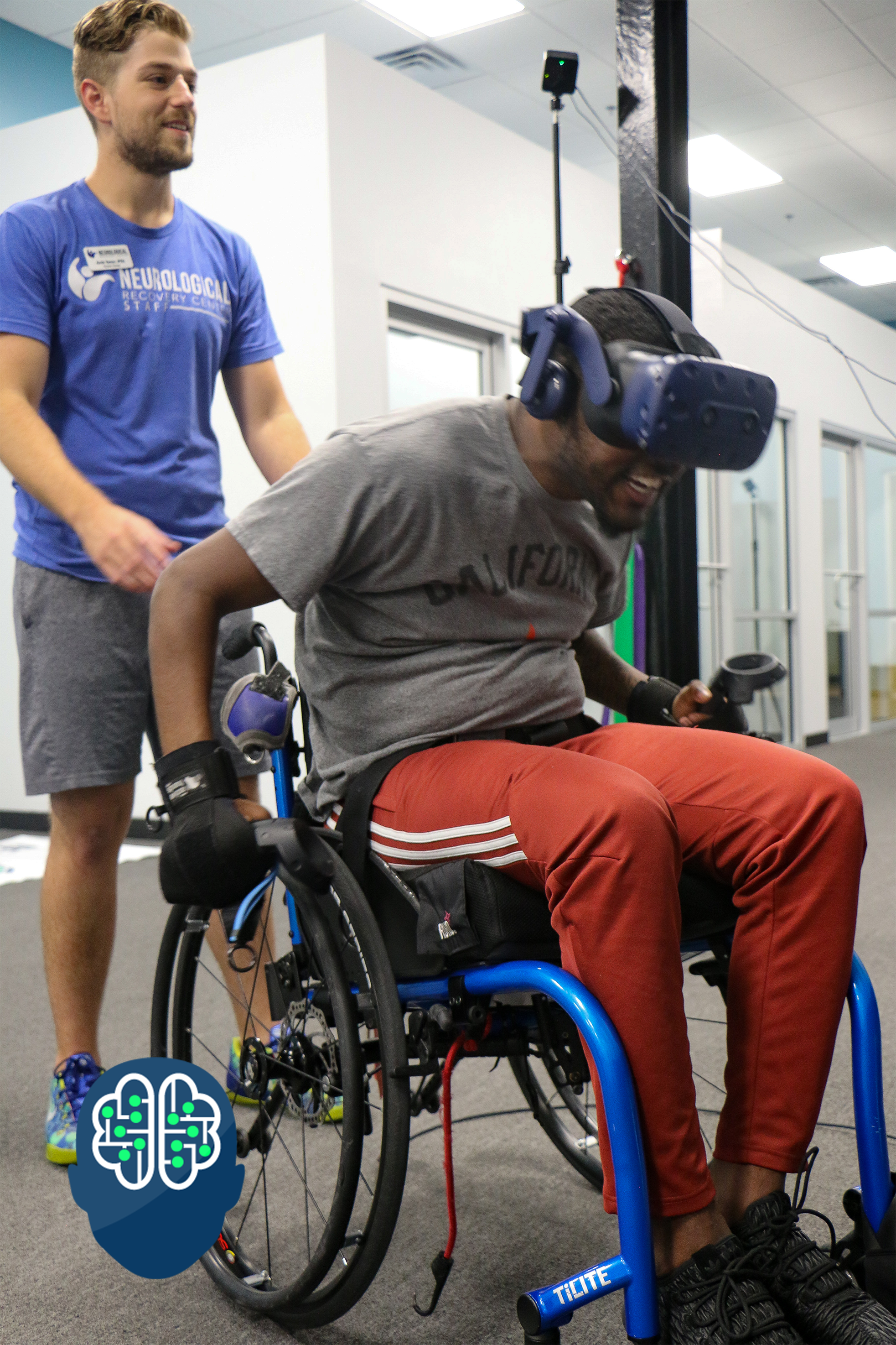 """Spinal Cord Injury Patient utilizes VR - """"I can feel it in my legs, in my hips, in my shoulders, and back muscles. This is really a full body workout."""""""