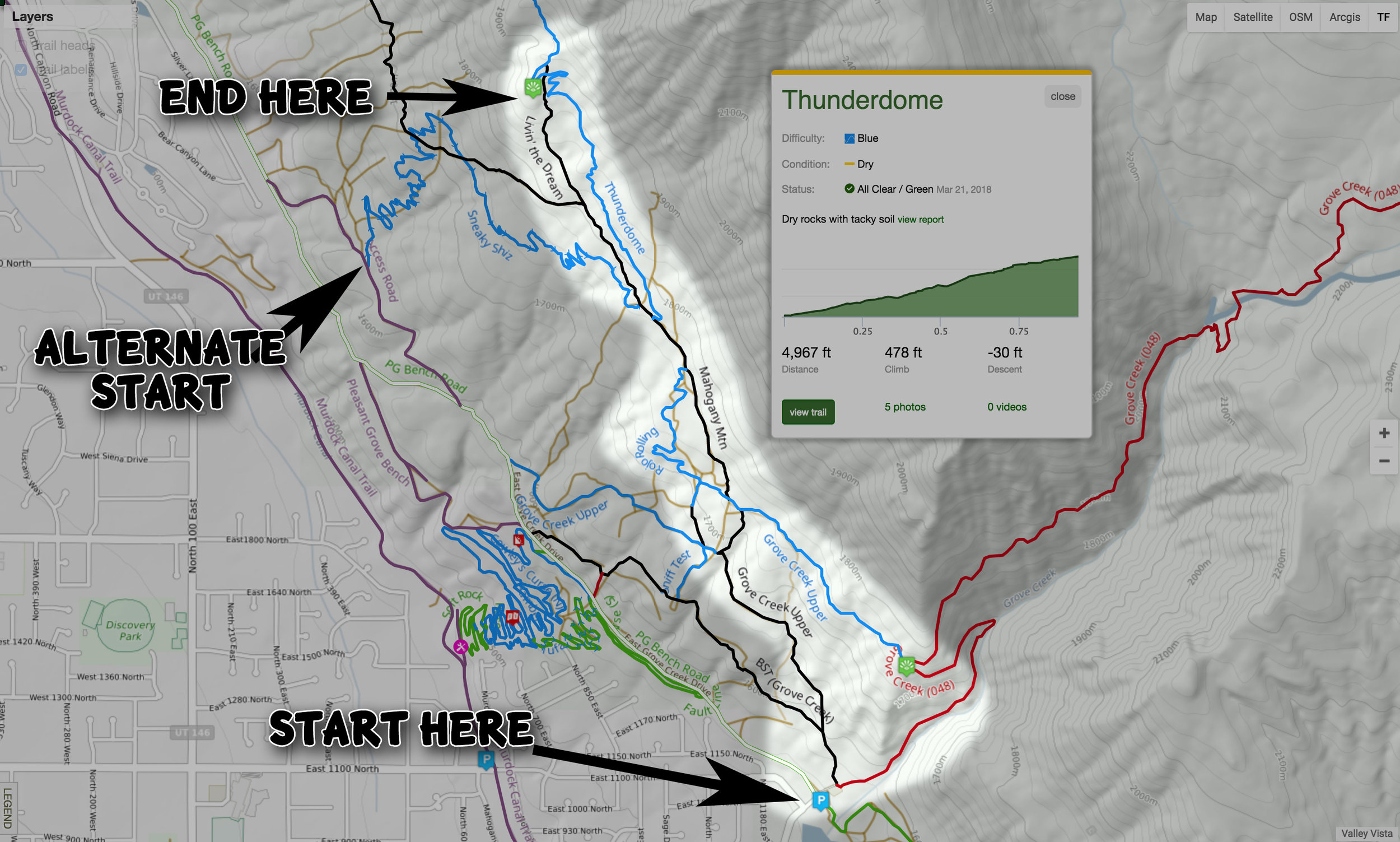 View map on trailforks.com