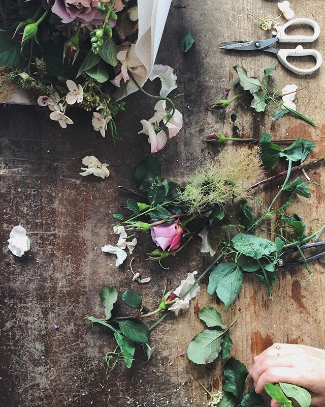 I spent a very lovely day shooting with @hilaryhorvathflowers last week! Video coming soooon.