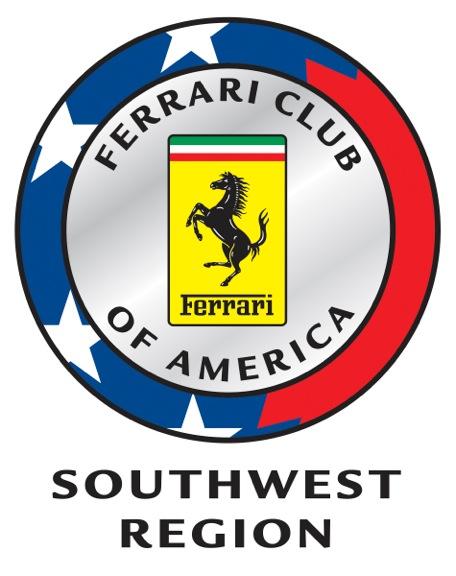 Ferrari Club of America Southwest Region logo