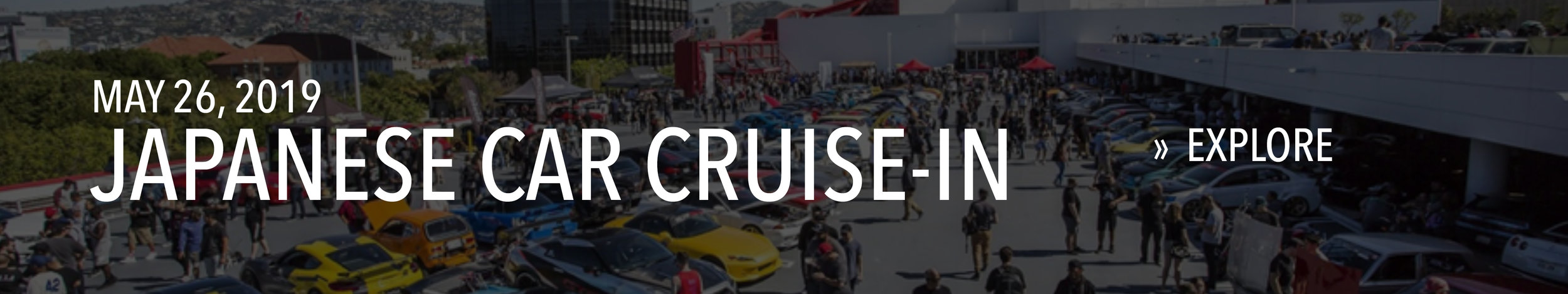 Japanese Car Cruise-In on May 26, 2019