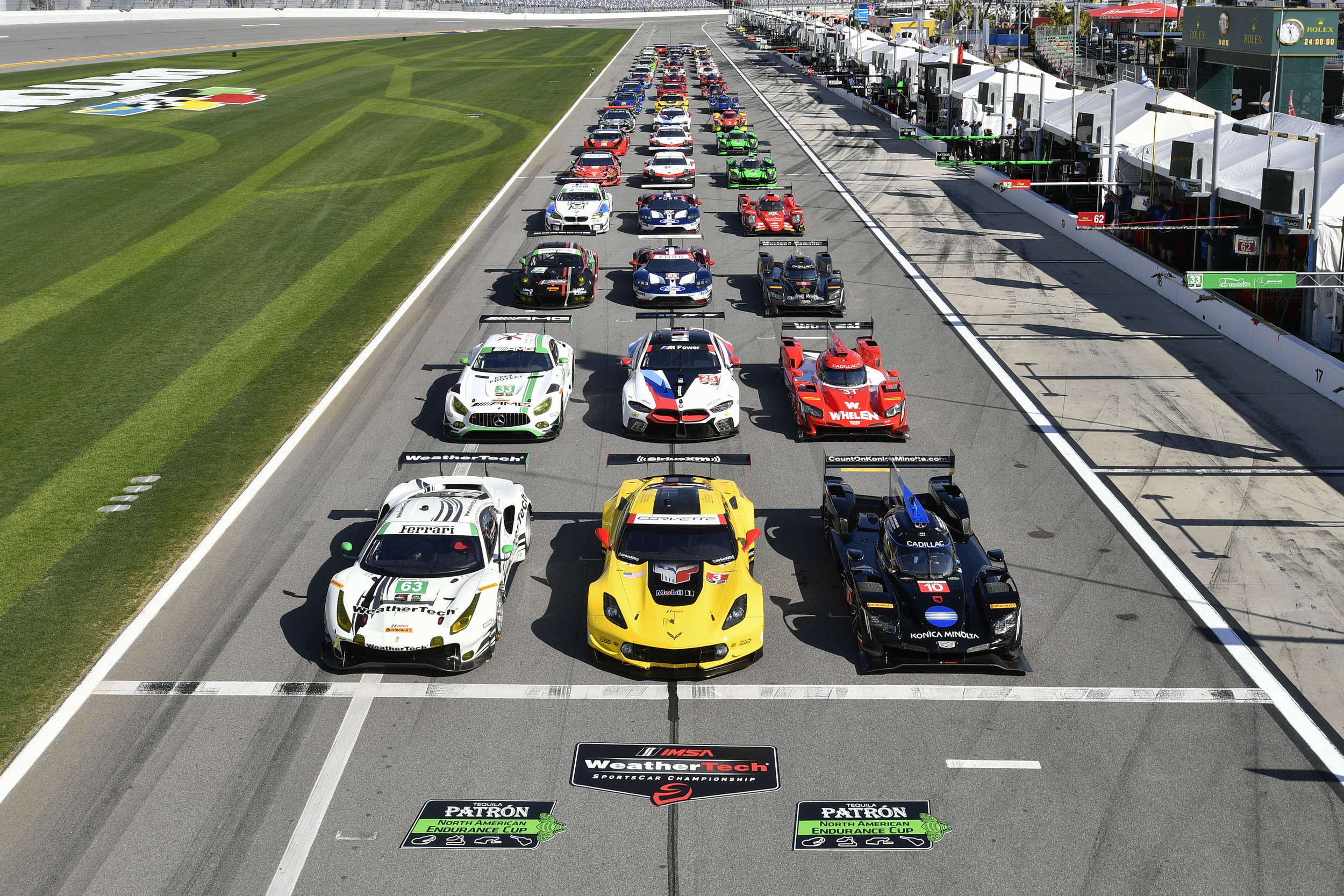 Photos courtesy of IMSA® a registered trademark of International Motor Sports Association, LLC.