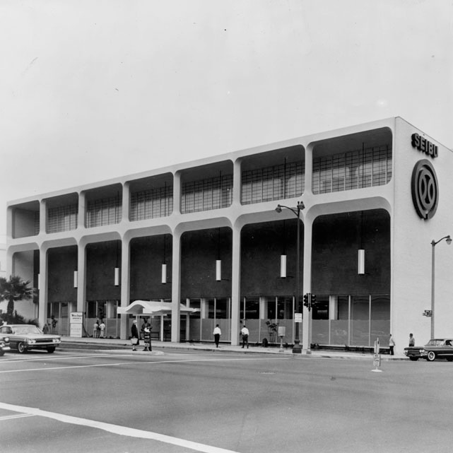 Seibu Department Store, the original business of 6060 Wilshire Blvd.