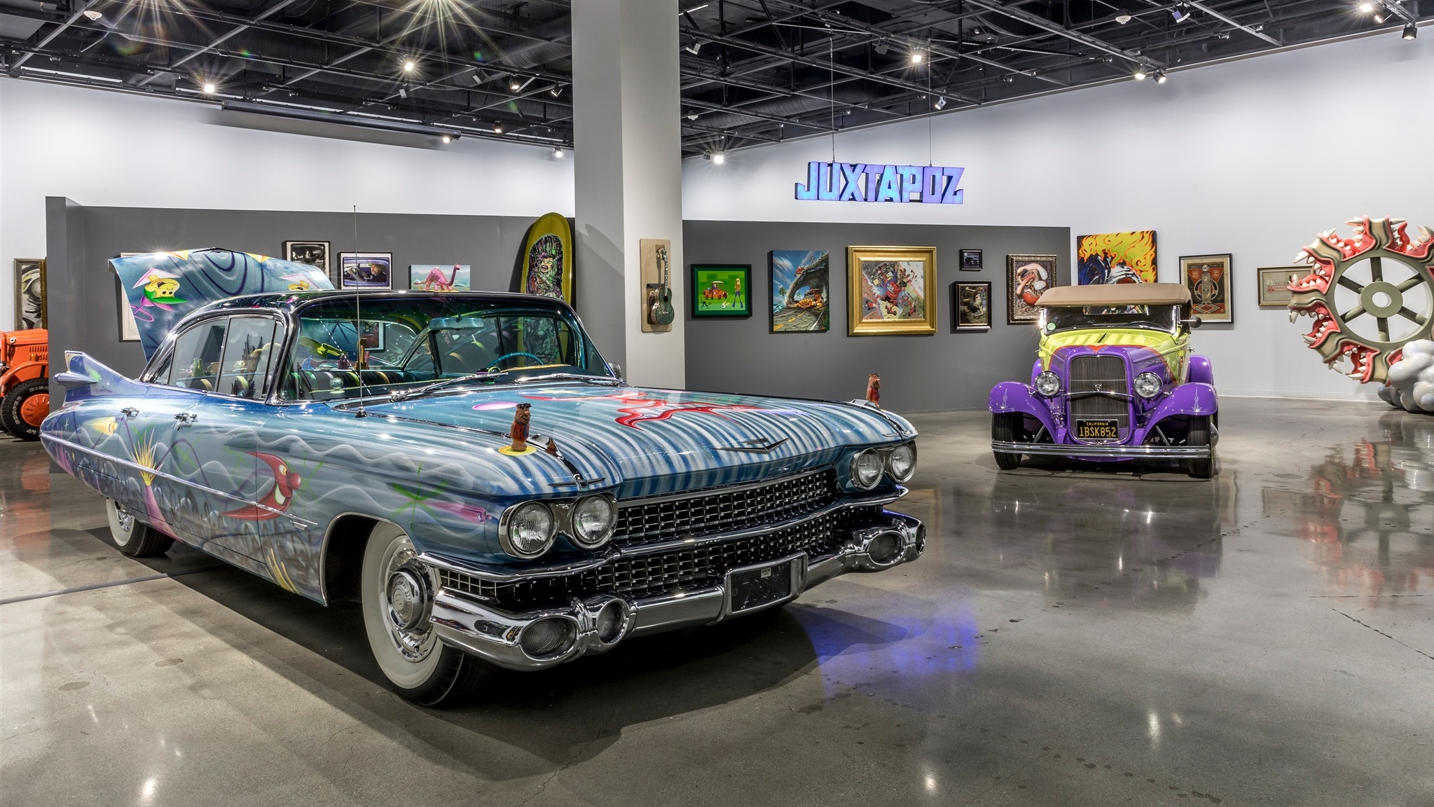 Petersen Automotive Museum to Present New Art and Automobile Exhibit Featuring Artists from Juxtapoz Magazine -