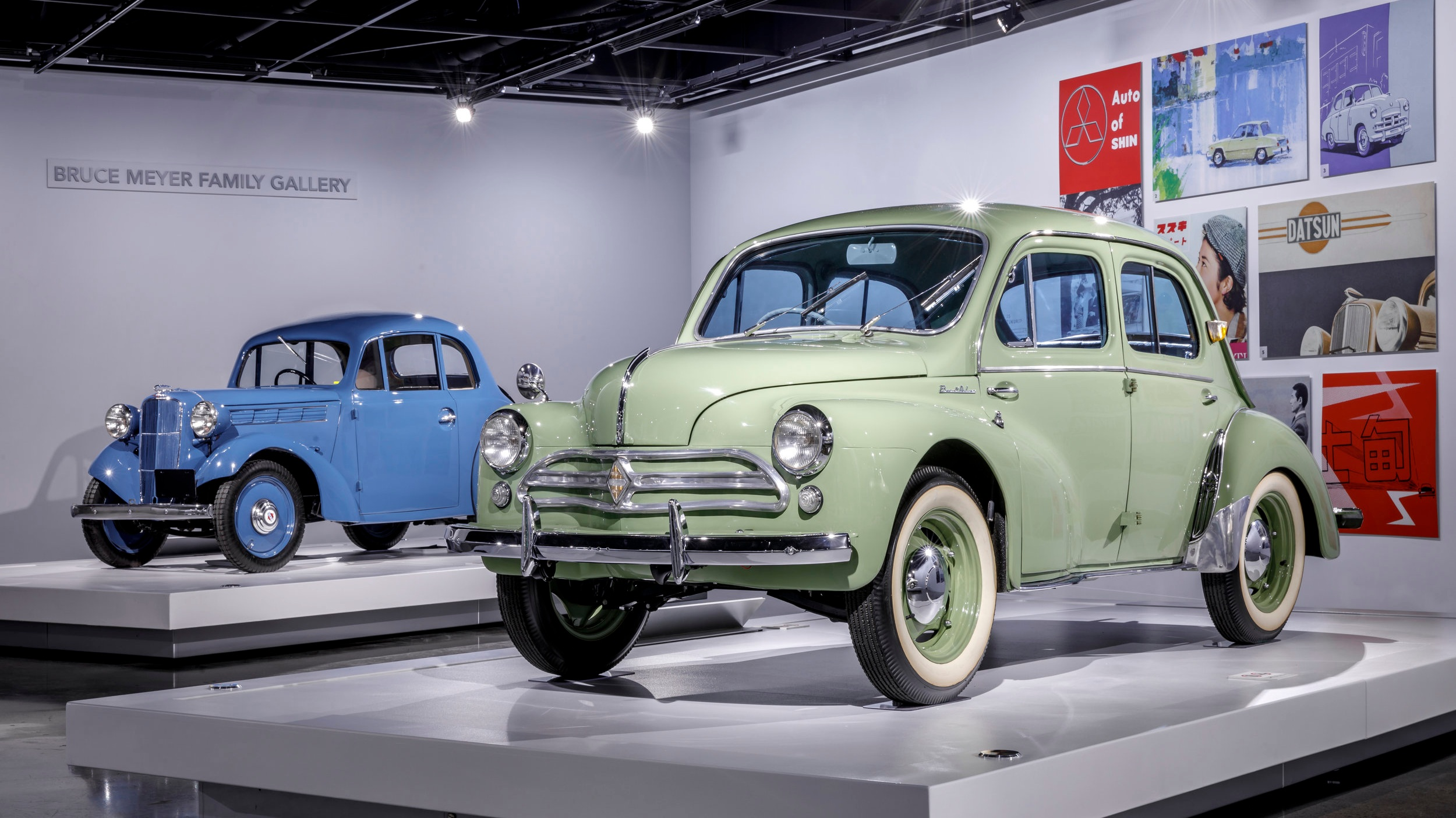 Now Open at Petersen Automotive Museum: Two Exhibits Celebrating Japanese Car Manufacturing and Culture -