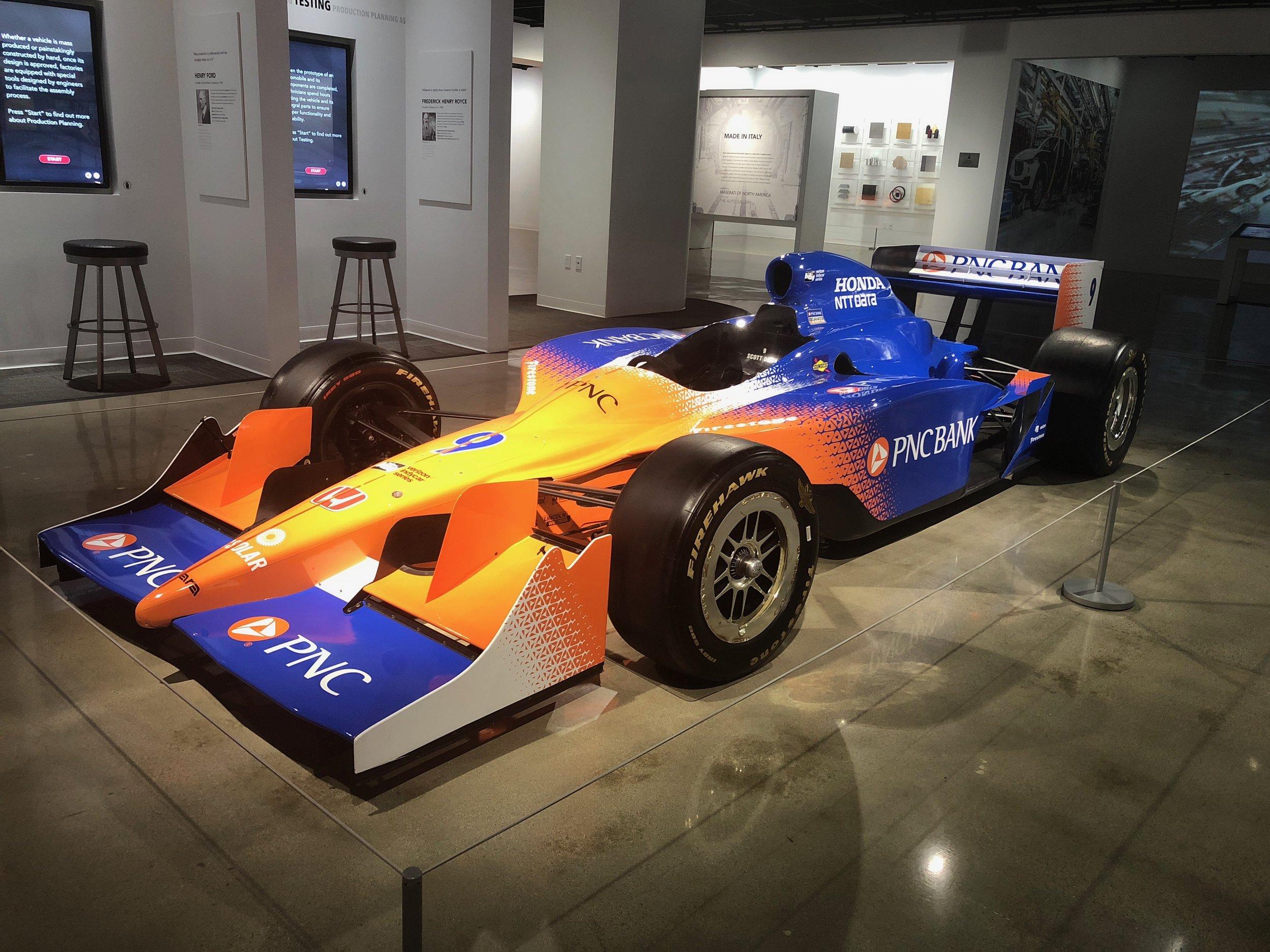 Featured Vehicle - 2011 Dallara Indycar