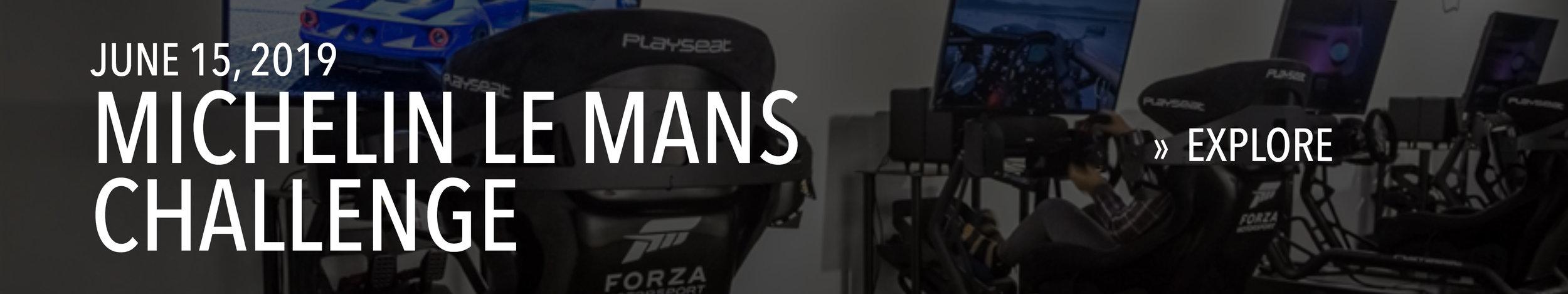 Michelin 24 Hours Le Mans Challenge on June 15, 2019.