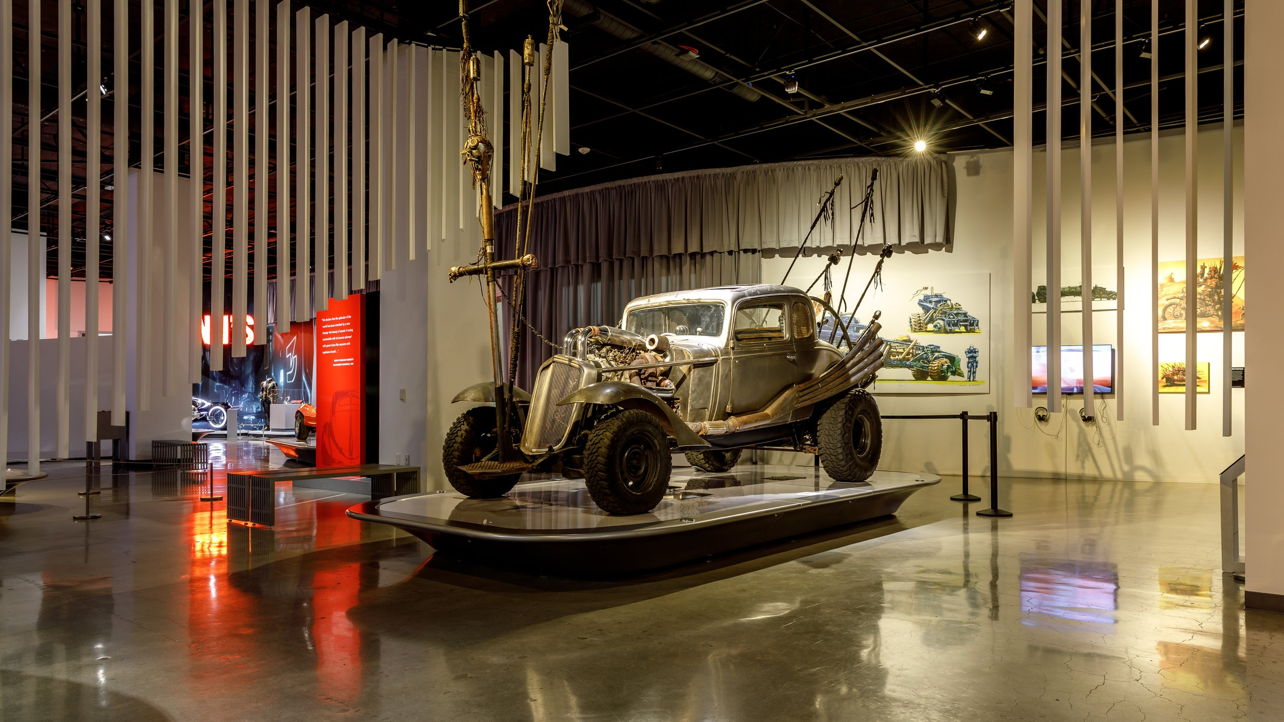 Petersen Automotive Museum's New Blockbuster Exhibit to feature Hollywood Movie Cars of the Future -