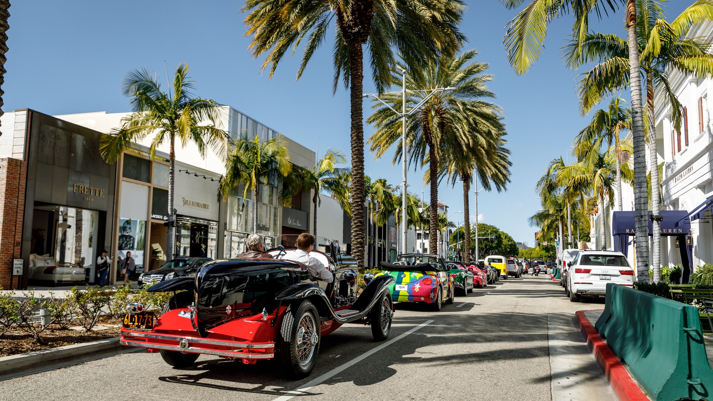 History in Motion: Iconic Cars from Hollywood will Parade Around Los Angeles on President's Day led by a Presidential Limo with a Special Guest -