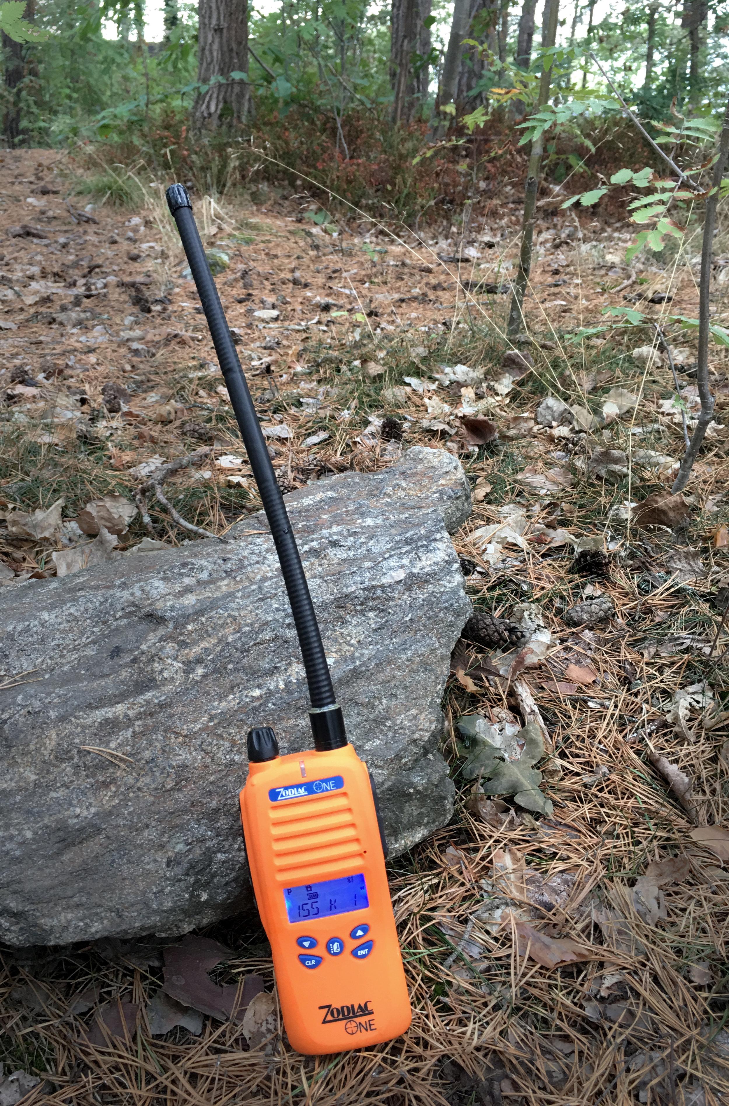 Antennen är det svåraste att få till så den fungerar till både 31 och 155MHz.