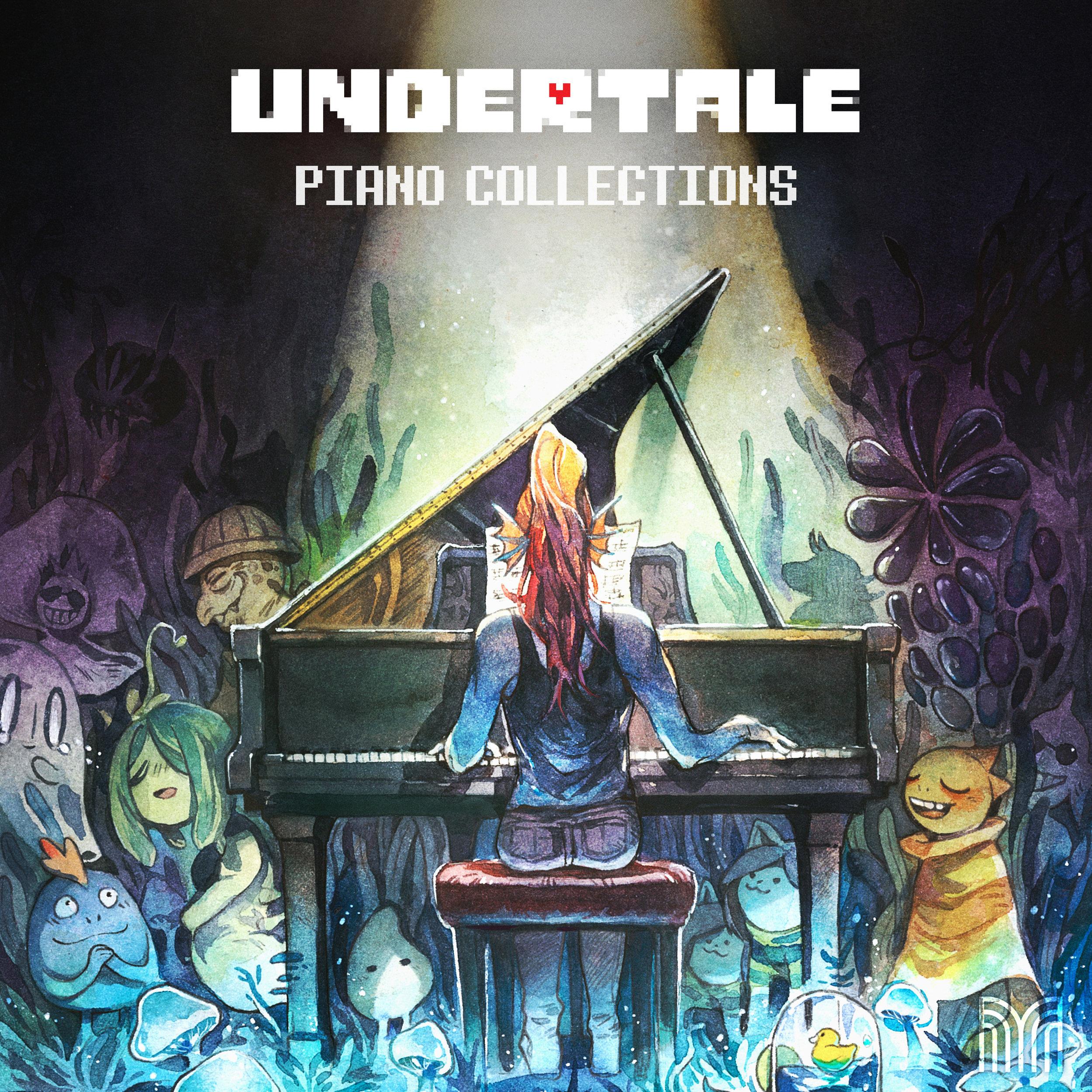 Undertale Piano Collections     (Toby Fox - arr.    David Peacock   )