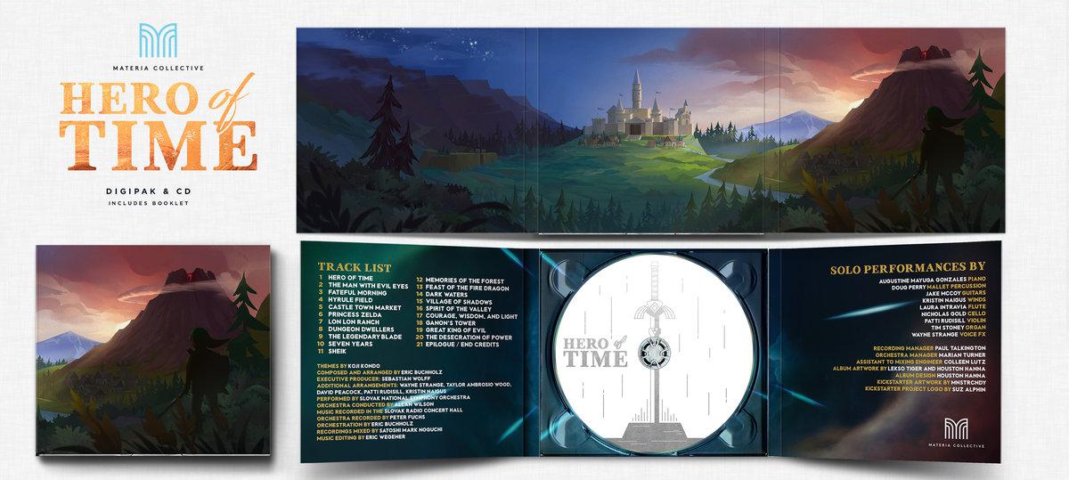 Physical CD Album