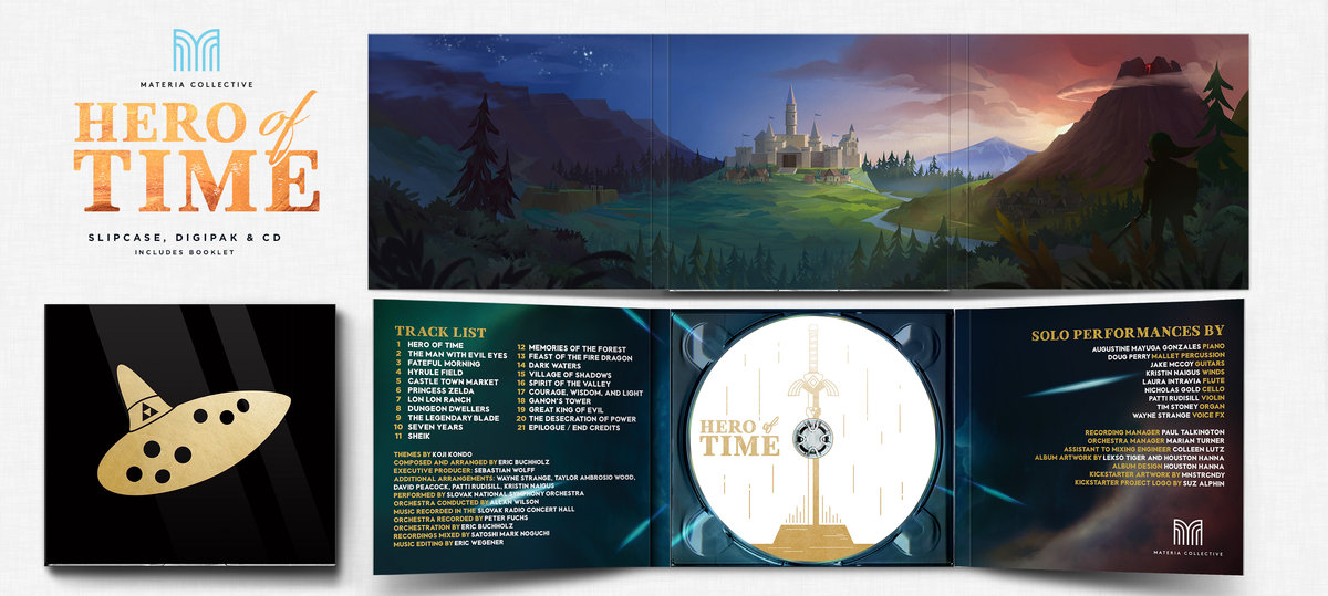 Physical CD Album (Gold Limited Edition)