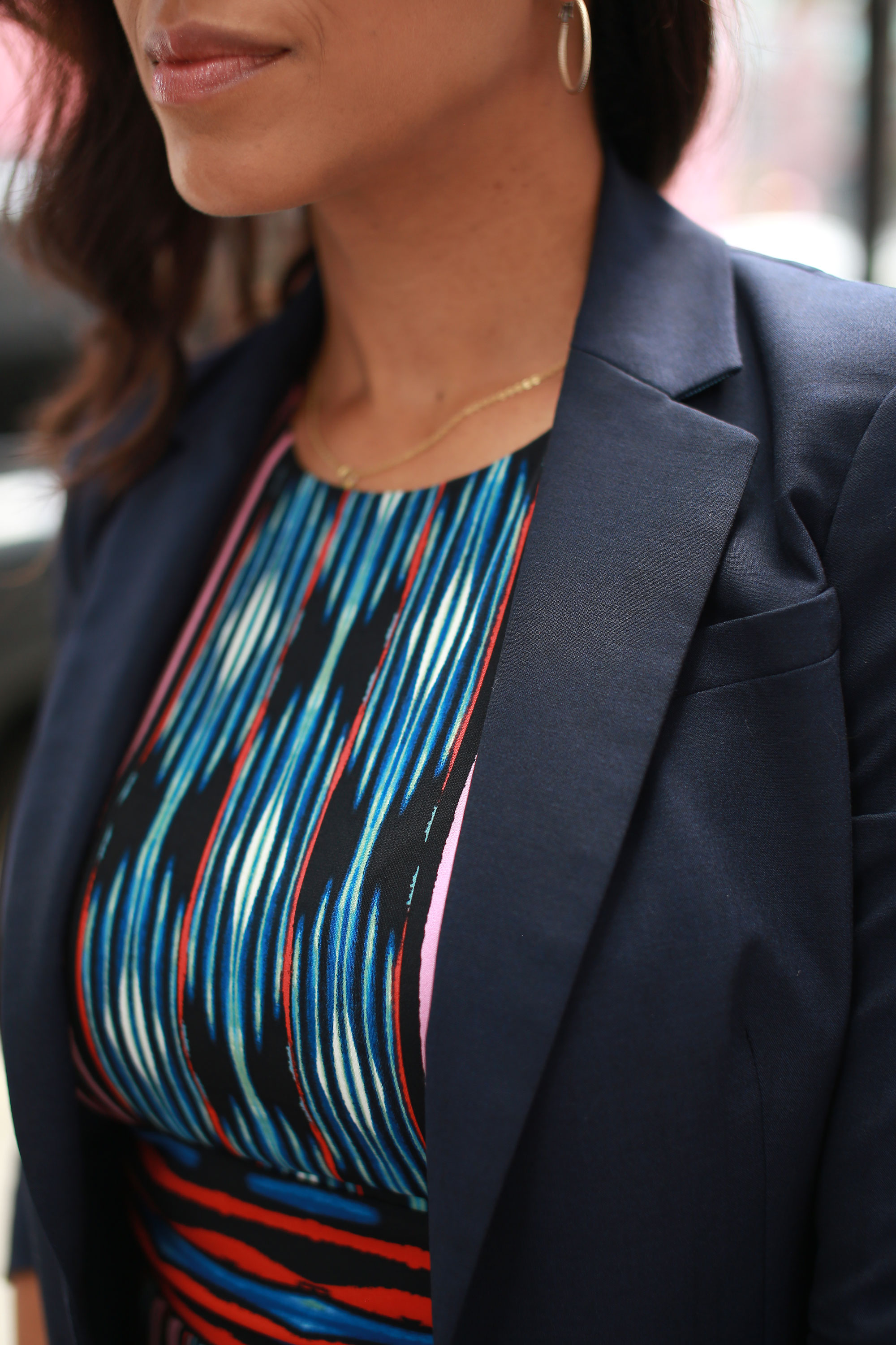 THE BLAZER - Tie your office look together with the a perfectly polished blazer. Not only will this layer keep you warm in an air-conditioned office, but it adds a super sleek finishing touch to your work outfit.