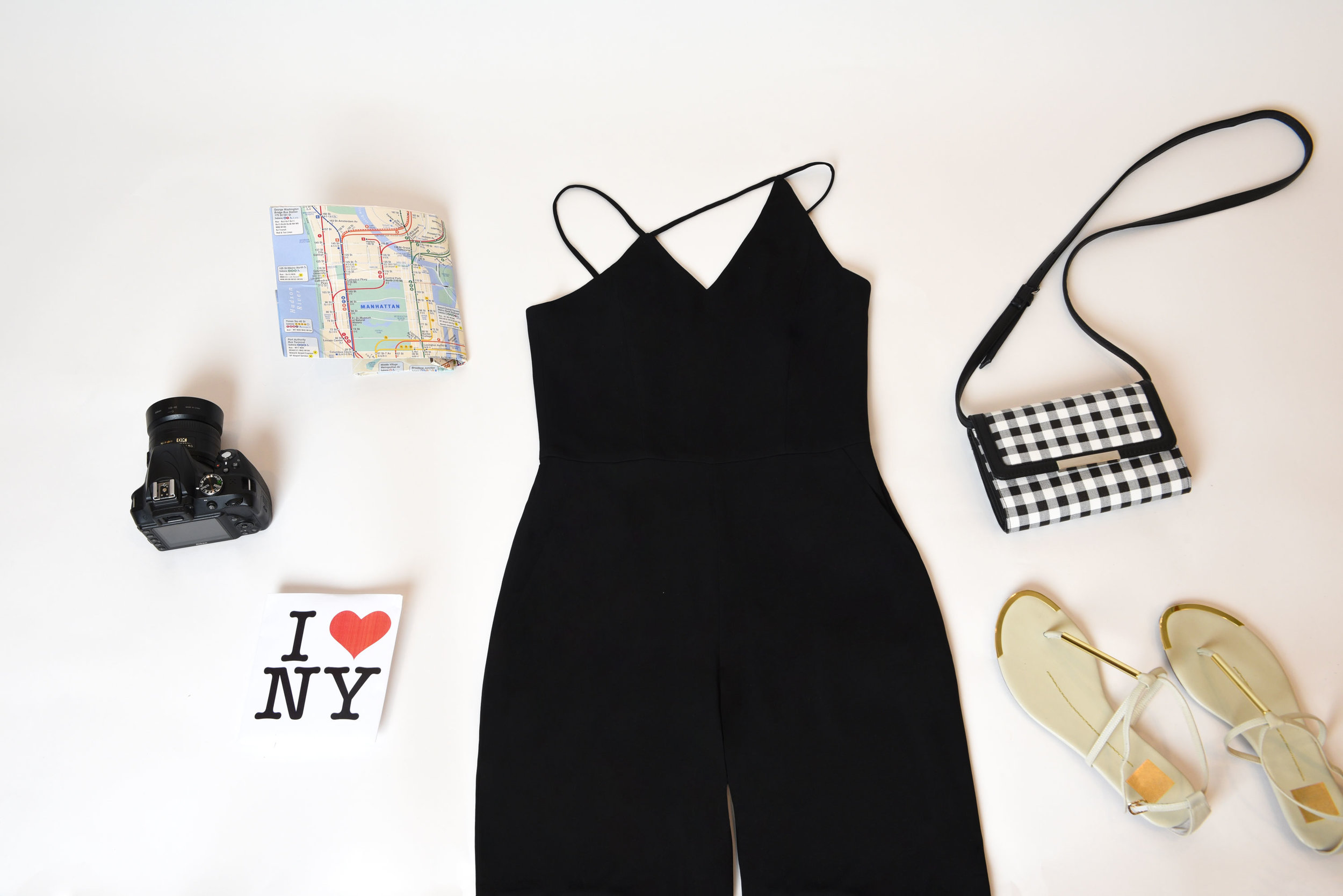 We can't all share the same grace as Marilyn Monroe in her iconic subway grate vs. flowy dress debacle. Our solution? One word: Jumpsuit! Our  Stilla   Jumpsuit  is perfect for a fast-paced city escape. You'll blend right in with the fashionable locals (Tourist? Where?)  and  avoid any potential breezy-avenue-related obstacles. Win, win!