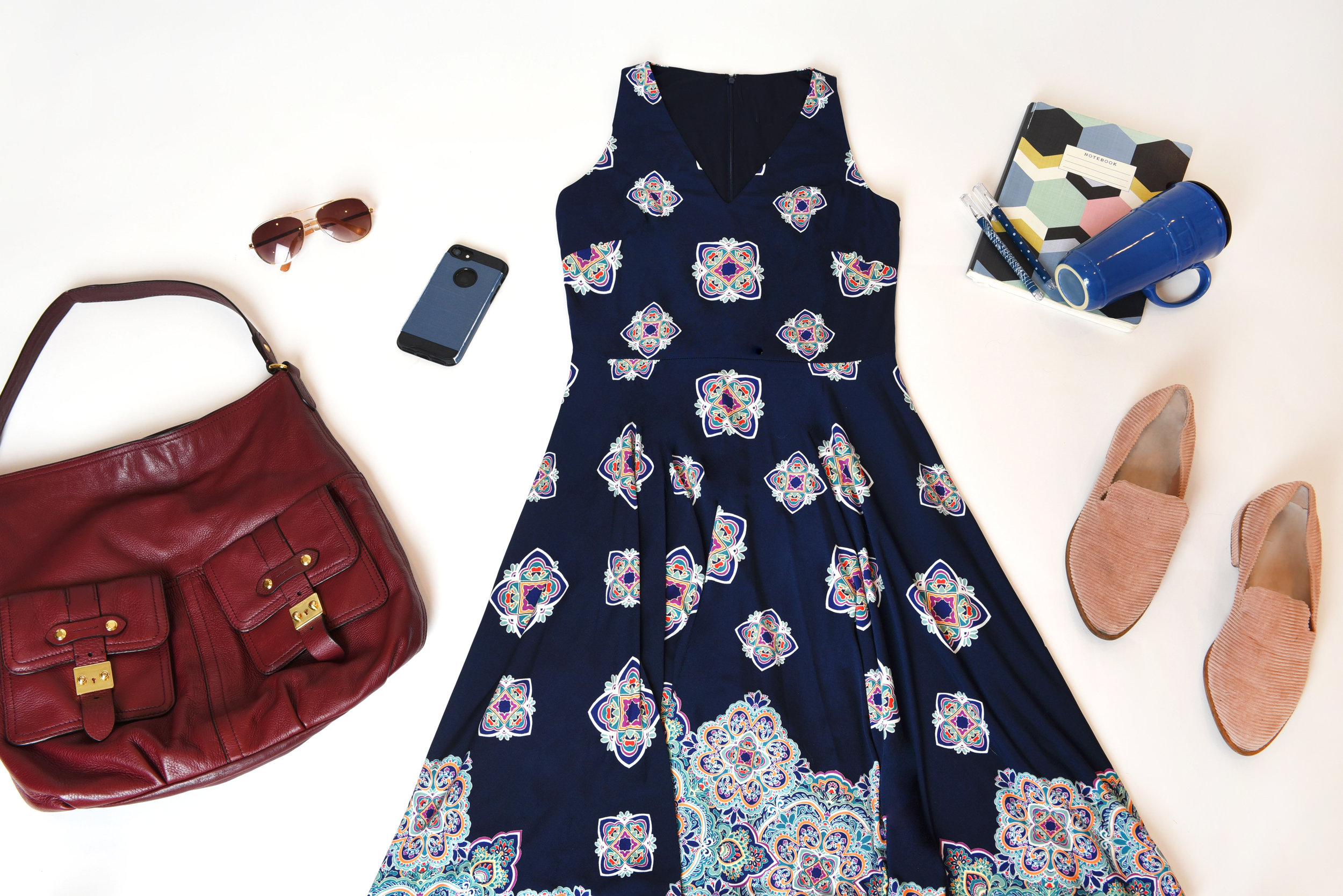 Sometimes, Summer Fridays can be trickiest days to style (Weren't they supposed to be the easiest?!). Concerned about misreading the line between  too casual  and  too stuffy ? With the perfect balance of office-appropriate and comfy-casual, our  Callie dress  will have you twirling work stress away before the weekend even starts.
