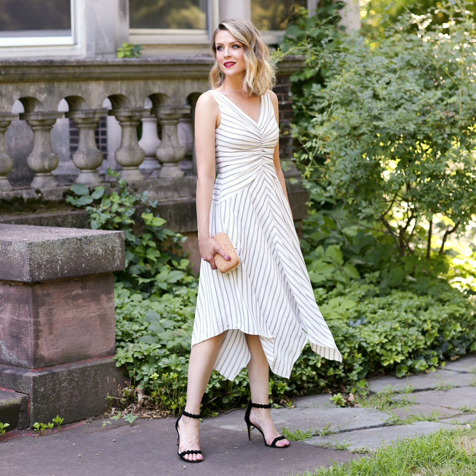 The Alyson Fit & Flare - Possibly the most comfortable style on sale, and definitely the next dress you need in your closet! Wear on the weekend with easy flats, or dress all the way up with red lips, a cute clutch, and your favorite heels (can you tell we're seriously inspired by Kimberly's take on our Alyson Fit & Flare?). Treat yourself to a flattering set of stripes and twirl away with some savings!