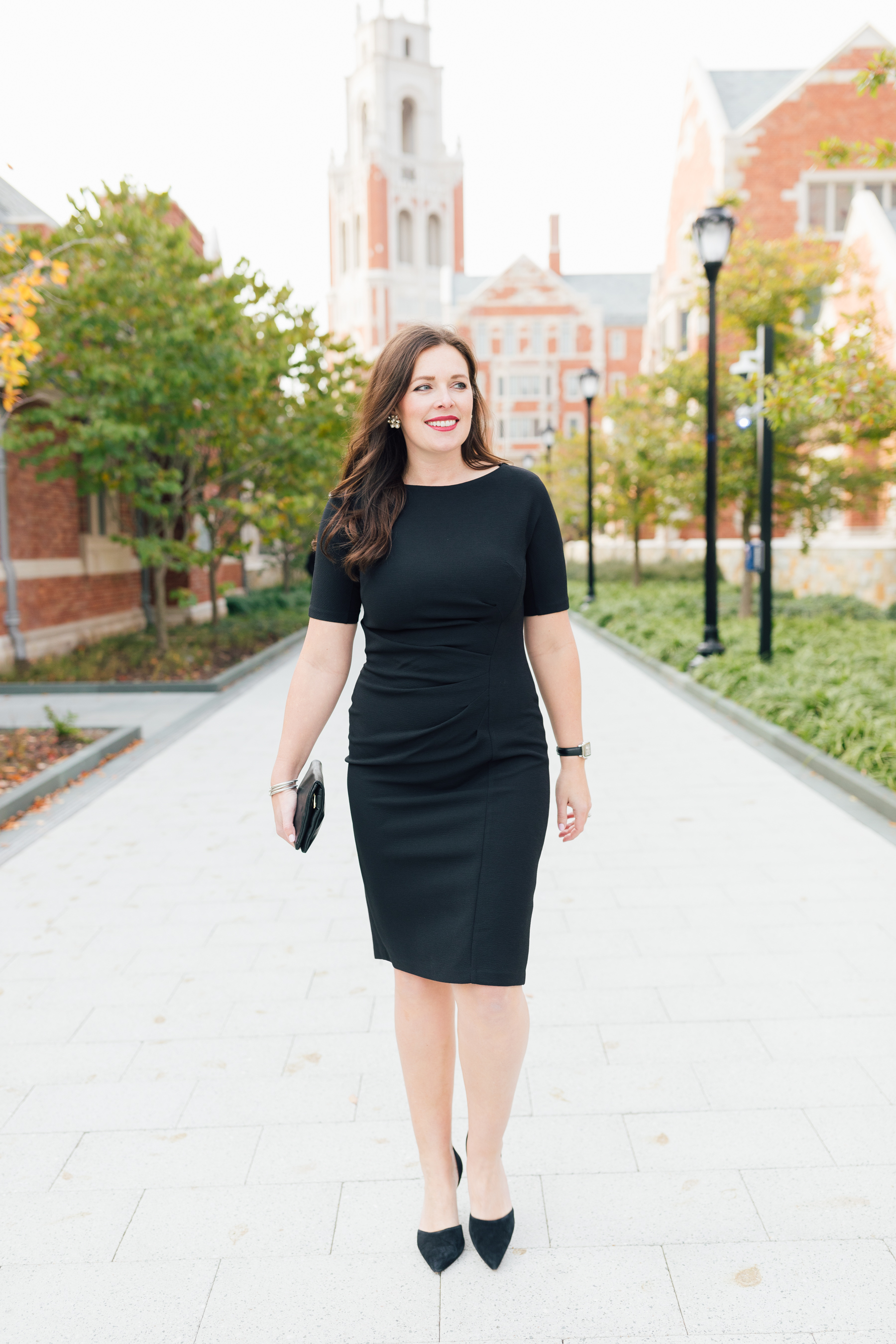 The Gigi Dress - If there's anything you need in your wardrobe, it's a classic little black dress. Easy in a pinch and perfect for every occasion, you can't go wrong with an LBD.As seen on Elizabeth, Author of Hard Alee