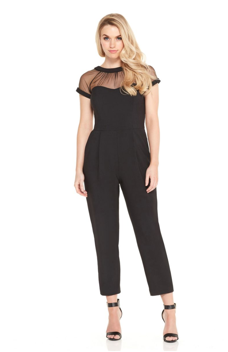 Karen - What I'm Wearing: I'll be wearing the Illusion Jumpsuit! It's the perfect look for staying stylish, comfortable…and eating all you want!Where I'm Wearing It: Dinner with Mom- Karen, Digital Marketing Manager