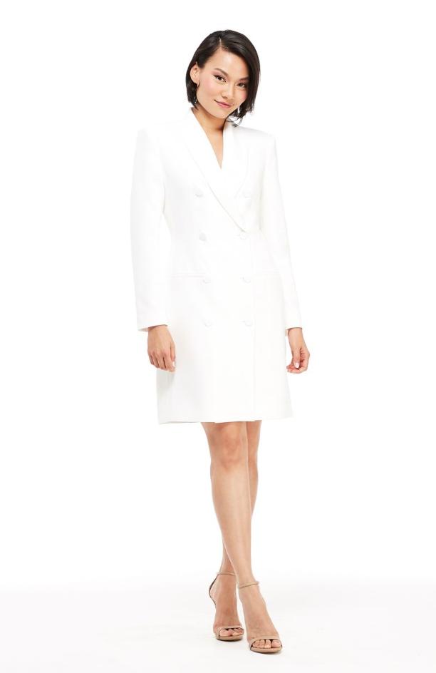 The Toni Dress - Ivory