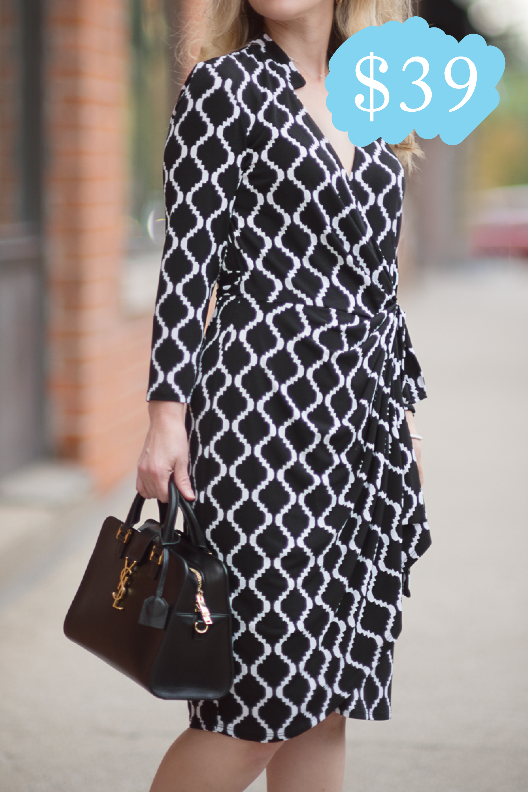 The Philomena Wrap Dress (Originally $148)