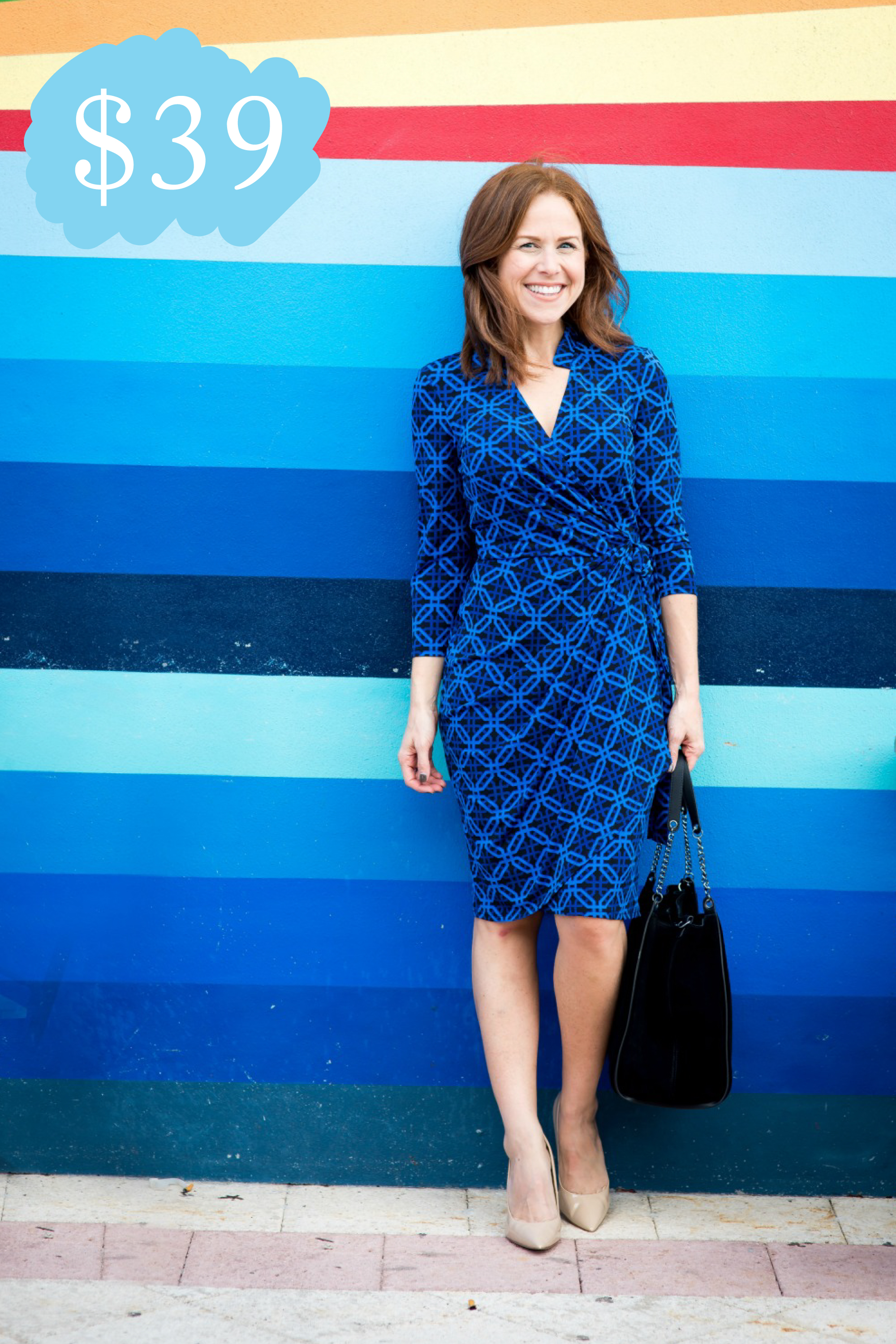 The Martine Wrap Dress (Originally $148) // @themodernsavvy