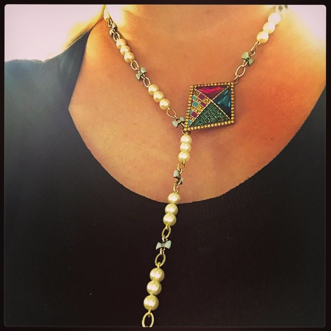 The infamous kite necklace