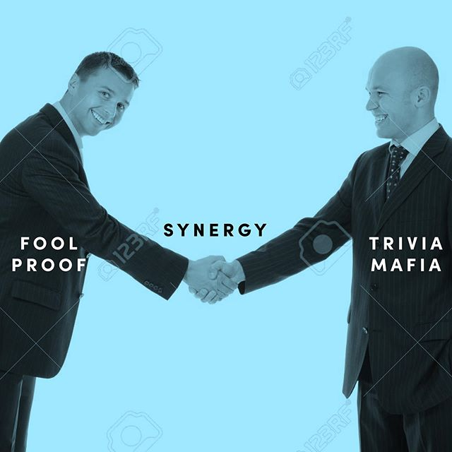 We're extremely excited to welcome our friends at @triviamafia as the newest members of Fool Proof. They make the world's best bar trivia—we promise we won't peek at the answers.