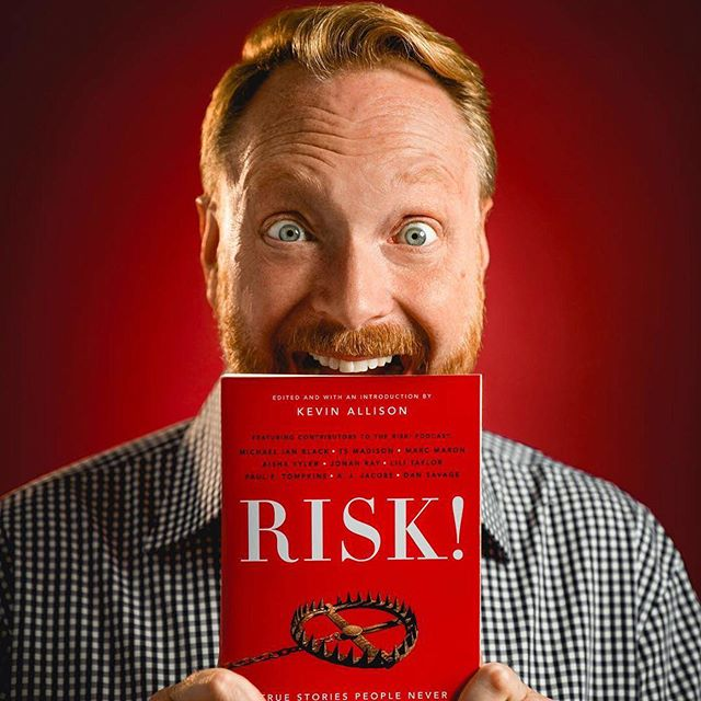 TONIGHT! Fool Proof Presents RISK! with @thekevinallison at @amsterdambar651. Tickets available at the door or the Amsterdam website. 7pm doors, 8pm show. See you therrrrre.