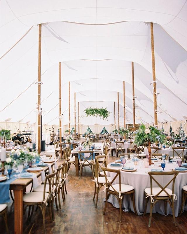 Tis the season for tent weddings! Who said tent weddings aren't the same?! Pshht 🤚#liesstephen #sailclothtent #whatsyourvision