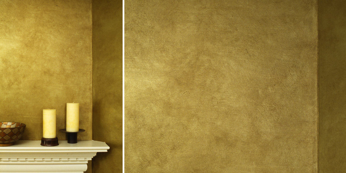 Metallic Gold Parchment Treatment