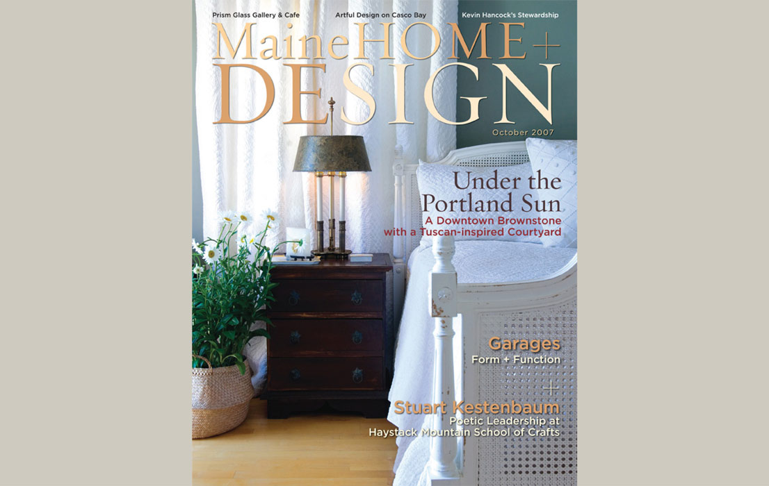 Maine Home and Design October 2007
