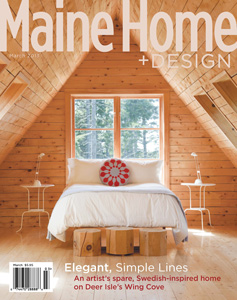 Maine Home and Design March 2013