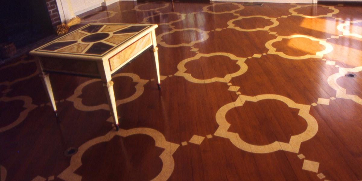 Painted Moorish pattern