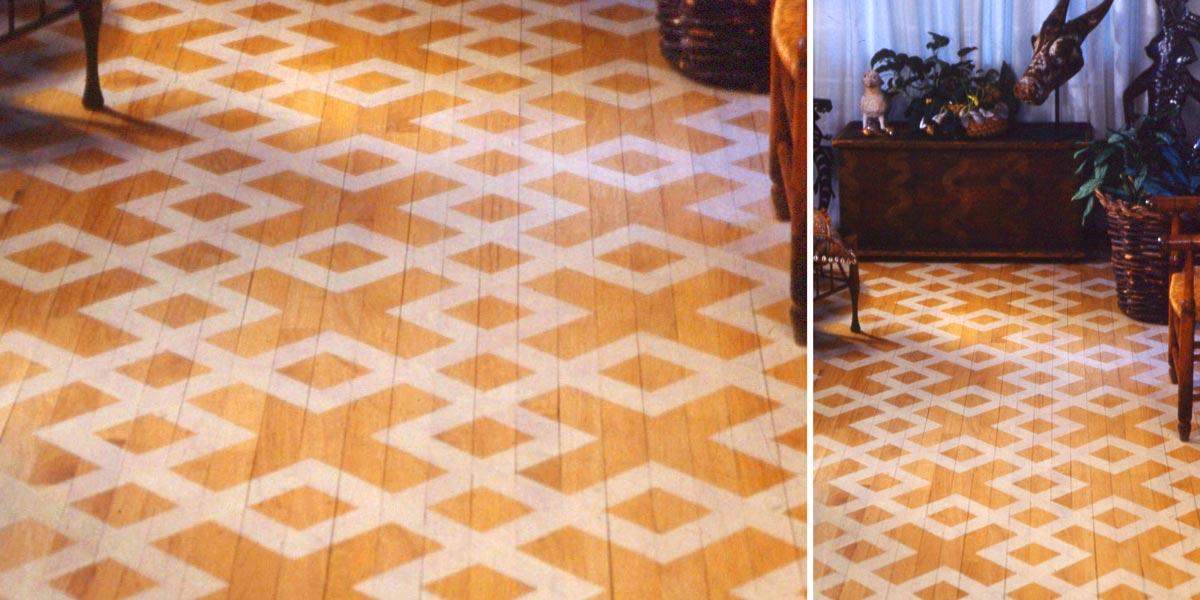 Detailed Floor White pattern