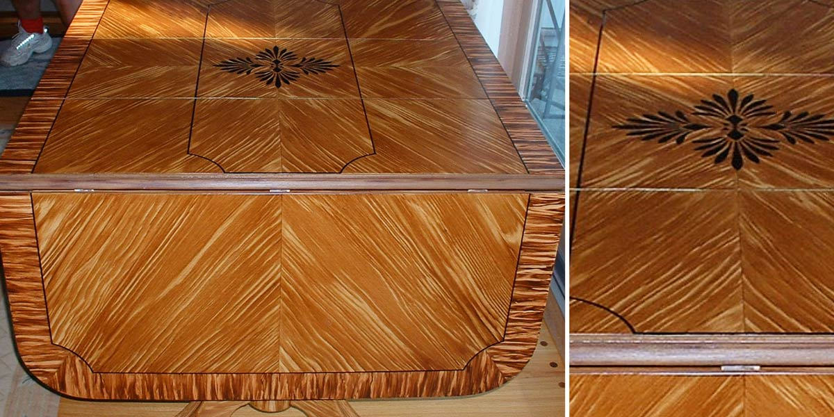 Faux Bois with Inlay