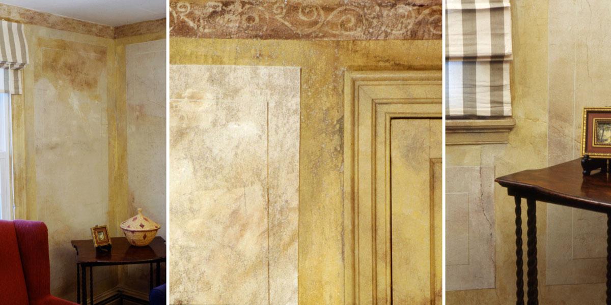 Distressed Wall Treatments