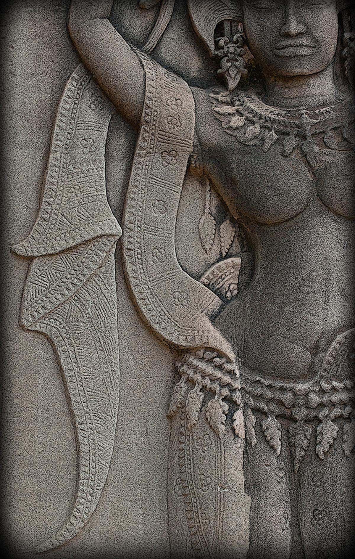 One Apsara Dancer